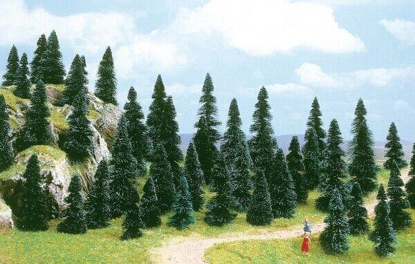 Arbres Trees 100 Pieces Assortiment N 1 160 Diorama Model BUSCH
