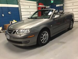 One Owner, Low Mileage Saab 9-3 Convertible