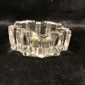 Vintage Grandfather Mountain NC Souvenir Glass Ashtray