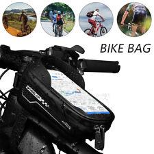 Turata Bicycle Front Frame Waterproof Bag Black For Sale Online Ebay