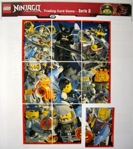 Lego Ninjago TRADING CARDS série 3 tous les limitatifs cartes le1-le24 Ultra UA