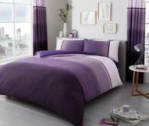 Luxurious Urban Ombre Pattern Modern Style Duvet Covers Reversible Bedding Sets