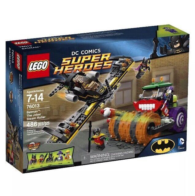 LEGO DC COMICS BATMAN THE JOKER STEAM ROLLER SET 76013 Retirot