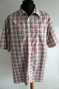 Walbusch-Extra-Smooth-Comfort-Fit-Shirt-KW-47-48-Red-White-Check