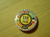 Pin's / Badge Peugeot - Peugeot 308 - voiture de l'année 2014