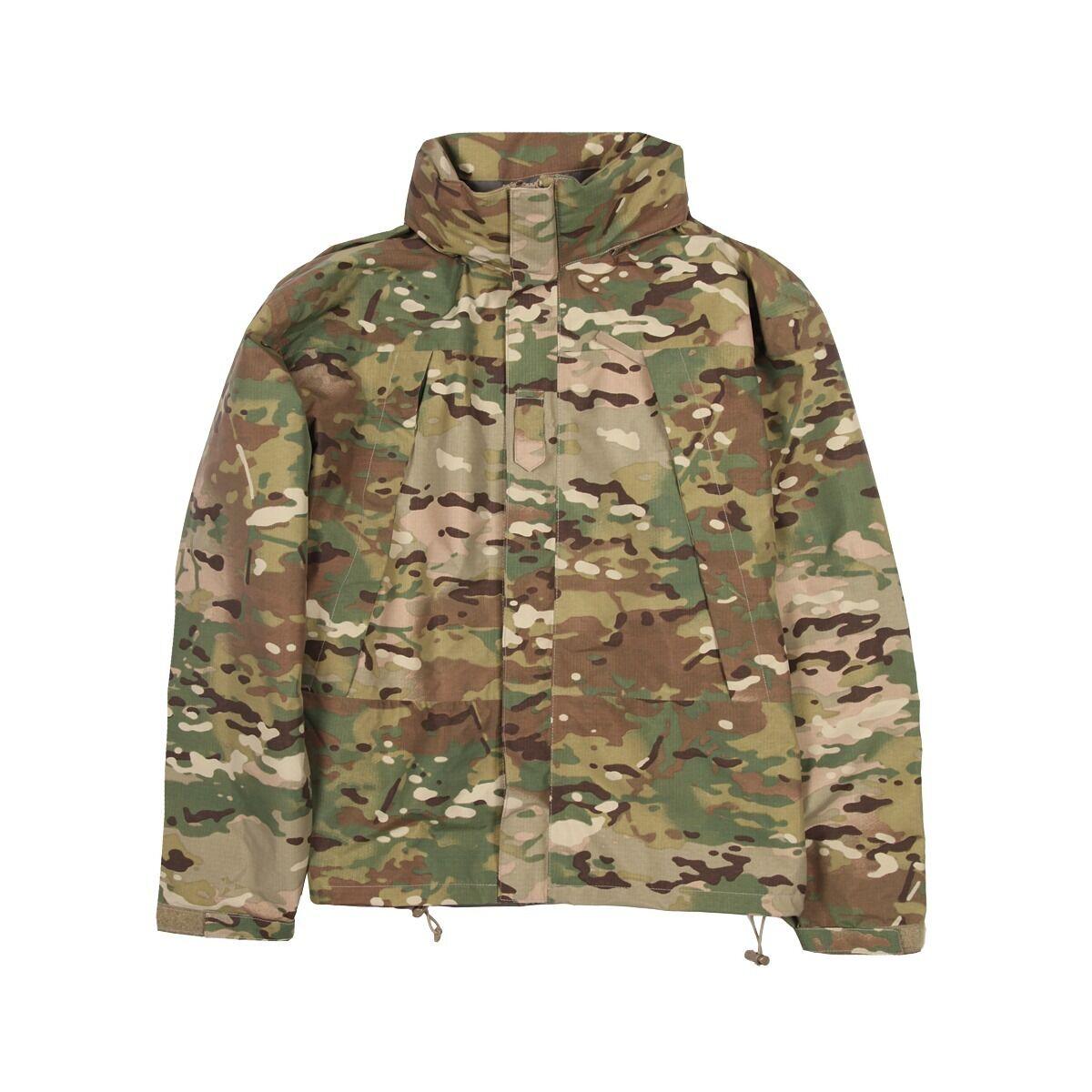 Us Army Ecwcs ocp multicam level 6 Goretex Jacket chaqueta XSS xsmall Short