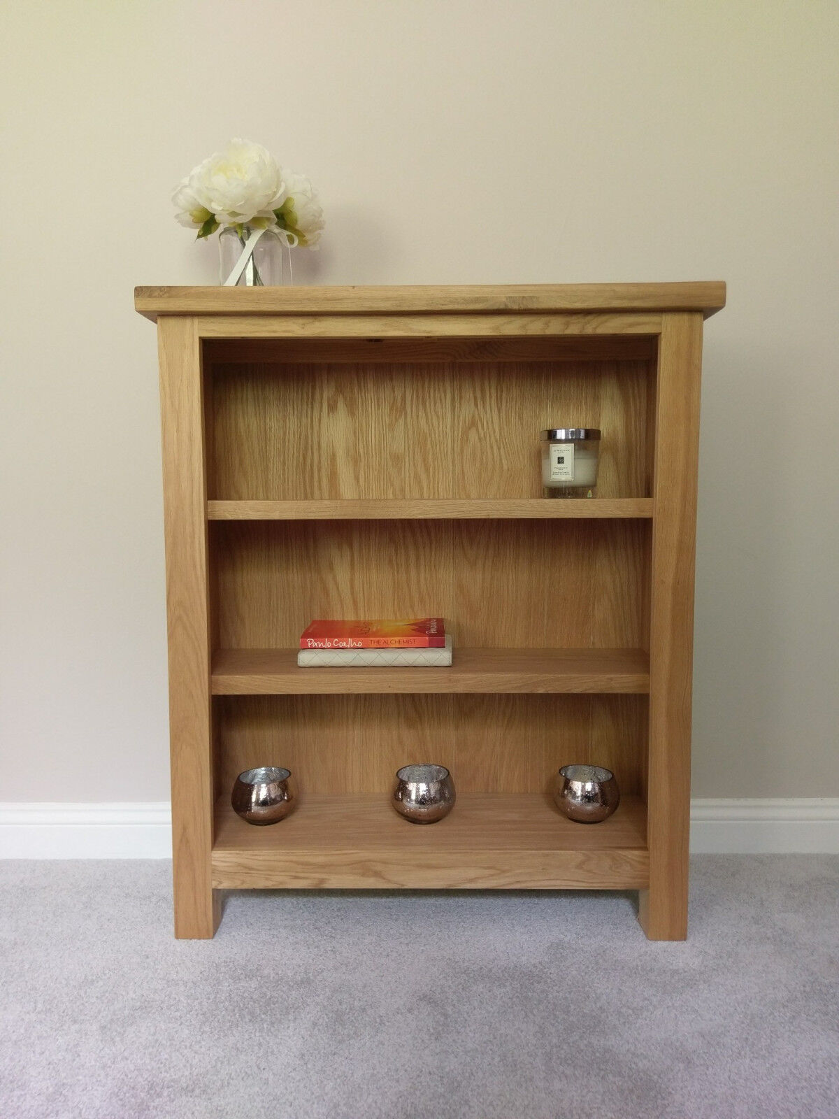 with solid furniture small coniston rustic oak drawers bookcase uk