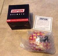 Simpson Nascar Signature Edition Mini Helmet John Paul Jr In Box W/ Coa