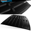 For-05-14-Ford-Mustang-GT-V6-V8-Rear-Window-Louver-Matte-Black-Cover-ABS miniature 8