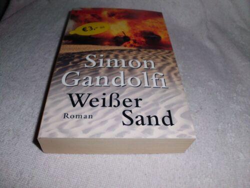 1 von 1 - Weißer Sand Simon Gandolfi - Taschenbuch Auflage  7/2002