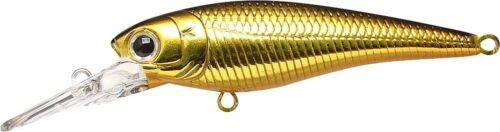 LUCKY CRAFT JAPAN Bevy Shad 50SP 00080006 Black and Gold