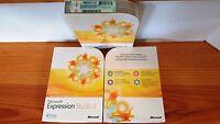 Microsoft Expression Studio 3,sku Pjs-00940,full Version,sealed Retail Package