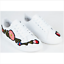 Womens Ladies Trainers Flat Embroidered Flower Sneakers Lace Up Pumps Shoes Size