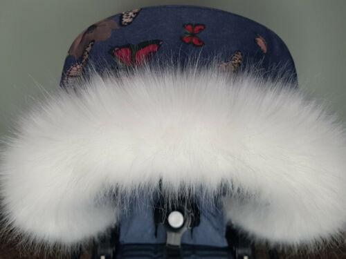 Pram Fur Winter Kit Fur Hood Trim Furs New Baby White From PramFurs