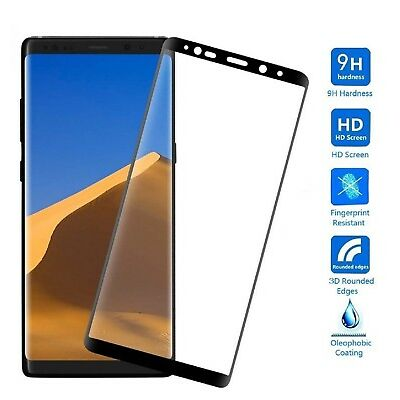 For Samsung Galaxy Note 8【HD Clear】 Tempered Glass Screen Protector Clear