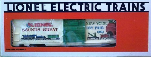 Lionel O O27 1989 Toy Fair Boxcar Brand New Ships FREE in US
