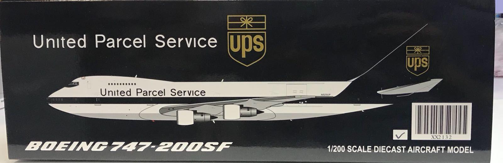 JC Wings XX2132, UPS Boeing 747-200SF N523UP, 1 200