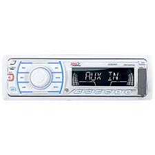 Boss Marine In-Dash Single Din Digital Media MP3/AM/FM Stereo Radio Receiver
