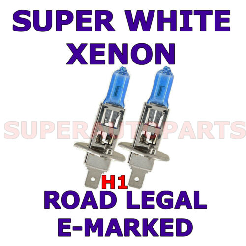 SW 2004-2006  SET H1 XENON LIGHT BULBS FITS PEUGEOT 407