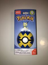 Mega Construx MINCCINO CHINCHIDOU Pokemon Series 12 Figure /& Poke Ball 27 PCS