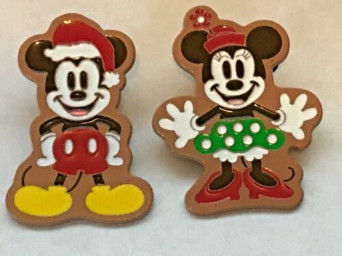 Disney Pin Mickey and Minnie Gingerbread Limited Edition