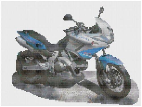 Cagiva Gran Canyon Motorbike CrossStitch Kit by Florashell
