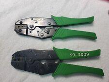 2 Shattuck Industries Ideal Crimpers Rg 58 59 174 Crimp Tools 50 2009 51 0005