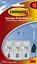 miniature 8 - 3M Command Hooks Hanger Damage Free Wall Adhesive Reusable Multipurpose Frames