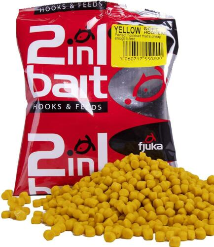The Soft Feed Scent Pellet That'S A Perfect Hookbait New Yellow Fjuka 2in1 Bait