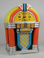 Retroflection Jukebox Clock' Rock Around The Clock 485023 In Box