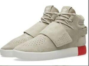 Adidas Mens Tubular Invader Strap Hi Top Shoes Trainers BB5035 ...