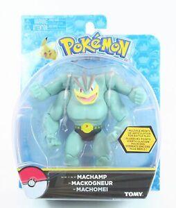 POKEMON-poseable-MACHAMP-6-034-action-figure-toy-Tomy-manga-cartoon-NEW