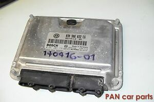 Motorsteuergerät Motor AUP VW Lupo Polo 6N2 030906032CG Steuergerät