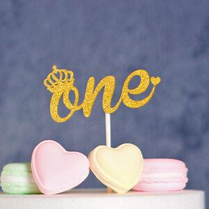 Super 1X One Year Old Birthday Cake Topper Baby Shower Party Decor Personalised Birthday Cards Vishlily Jamesorg