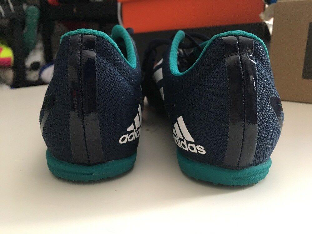 Adidas adizero md 2 männer laufschuhe 12,5 blau spikes entfernung laufschuhe männer aq3094 9a5095