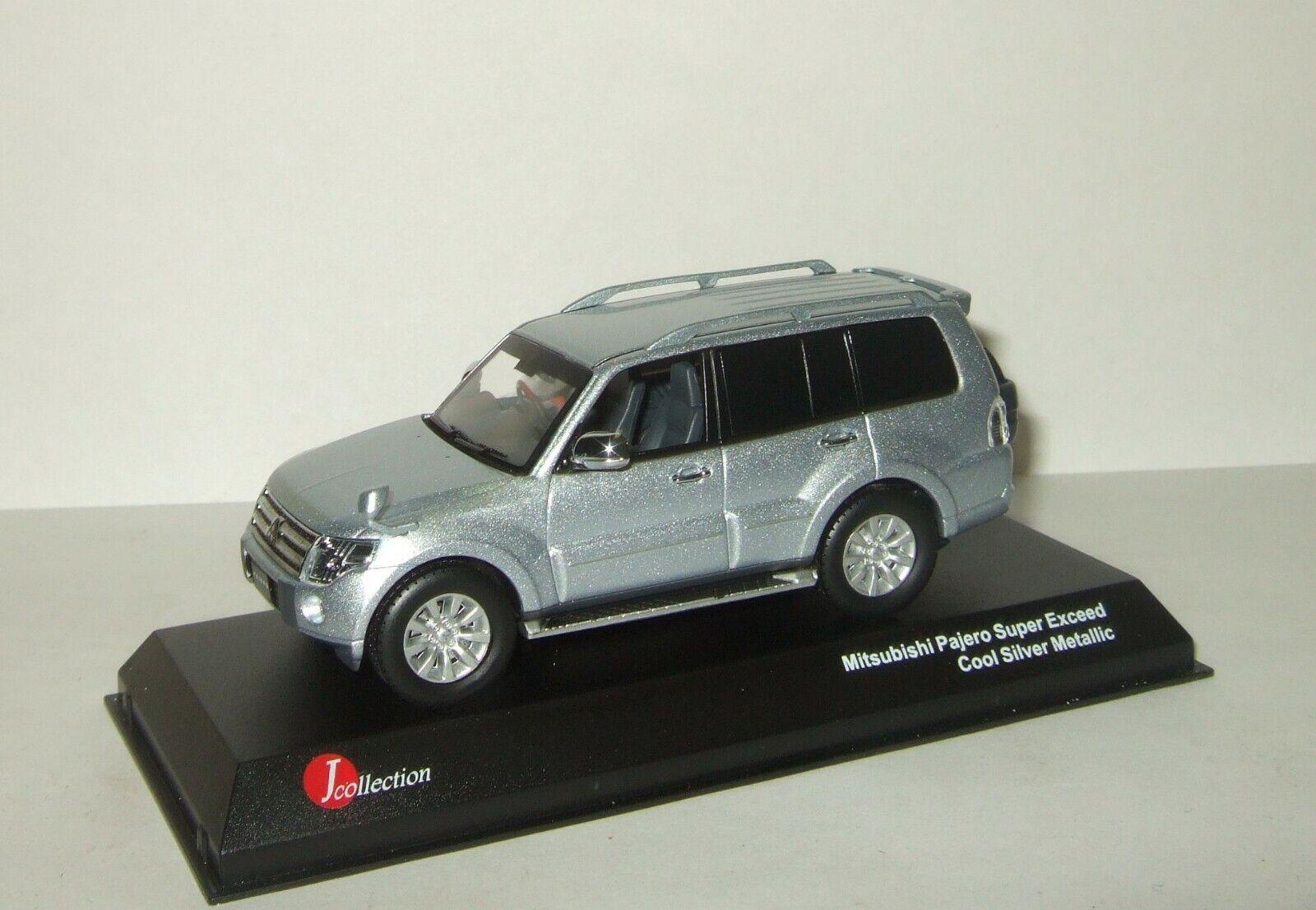 comprar marca 1 43 Mitsubishi Pajero 4 Kyosho J Colección súper exceder exceder exceder 4x4 4WD plata 2011  opciones a bajo precio