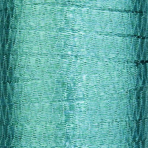 Un mètre Turquoise Metallic Wire Mesh Ruban de Menoni Italie comme wirelace
