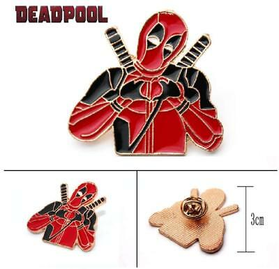 Pikachu Cosplay Deadpool Enamel Metal Brooch lapel Pins Badge free UKp/&p