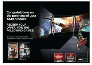 Details about Brand New AMD coupon: Bioshock Infinite + Tomb Raider Full  Game Steam Voucher