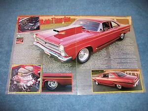 Details about 1966 Ford Fairlane 500 XL Pro Street Article
