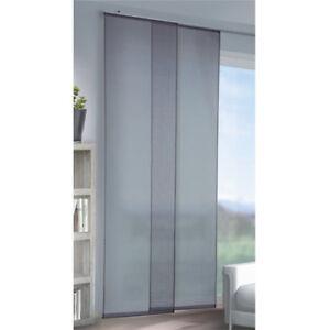 panneau-japonais-gris-couleur-unie-60x245cm-accessoires-de-DRAPERIE-Rideau