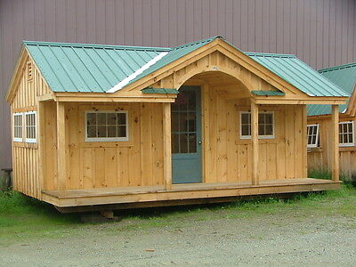 Gibraltar Tiny House DIY Plans - Home Office/Workshop/Yard - DIY Project Plans