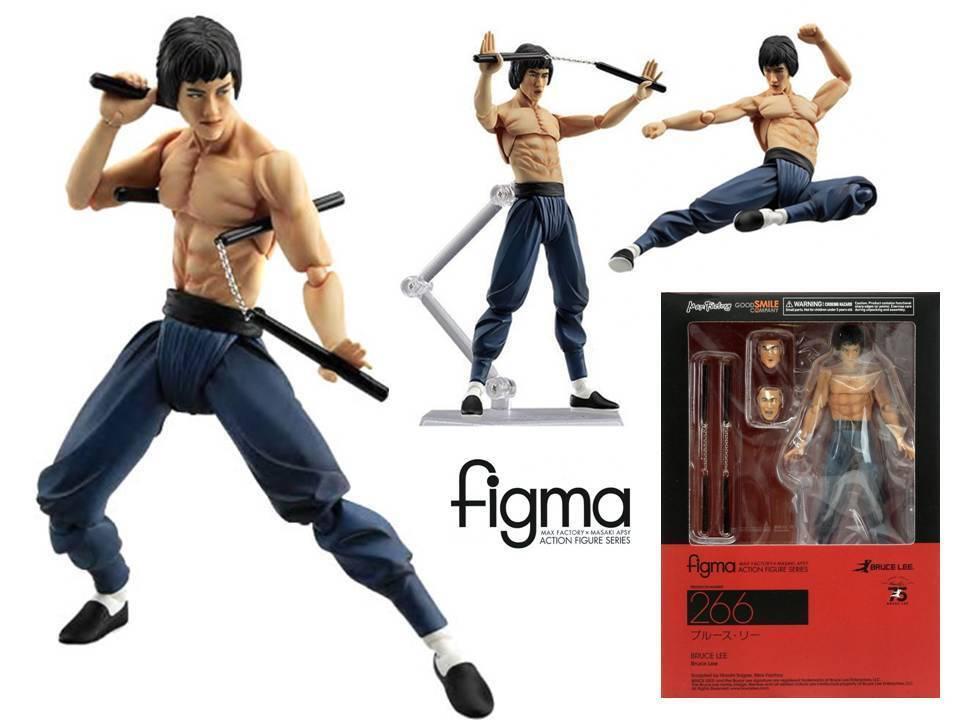 Action - figur bruce lee figma 75 ° jahrestag n ° 266 - 15 6 cm cm, max.