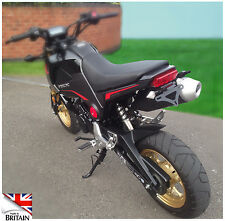 Honda MSX125 GROM Tail Tidy 2013 2014 2015. Fits OEM or Micro Signals.