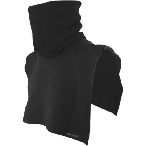 Schampa Tall Fleece Neck Dickie OSFM, Black