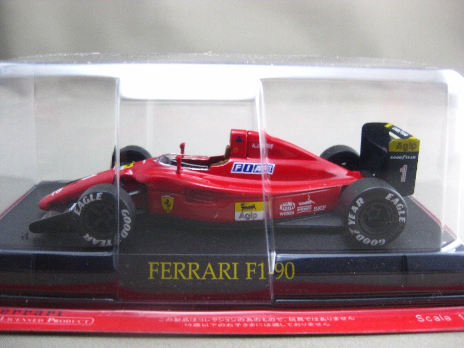 Ferrari F1-90 hachette 1:43 Diecast car Vol.77