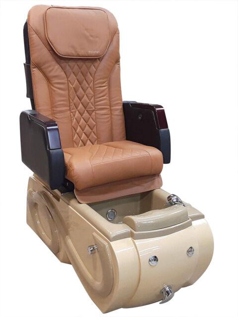Salon Pedicure Chair Ebay >> Spa Beyond Pipeless Pedicure Spa Chair For Nail Salon Refurbished