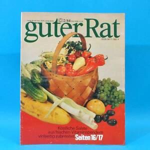 Guter-Rat-2-1984-Verlag-fuer-die-Frau-DDR-Elasan-Kloesse-Gartenmoebel-Sonnenuhr-D