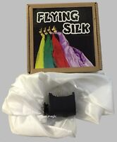 Super Flying Silk Ver.3 Magic Trick Power Reel Close Up Stage FREE SILK Parlor
