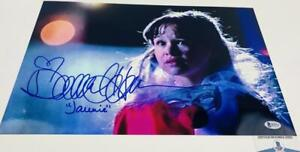 Danielle-Harris-signed-Halloween-11X17-METALLIC-photo-BAS-COA-H32911